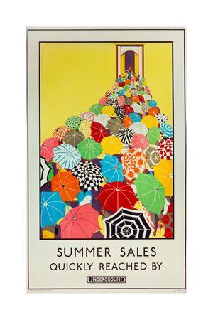 Summer Sales, Quickly Reached by Underground, 1925