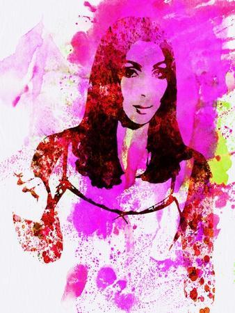 Legendary Cher Watercolor
