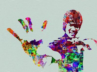Legendary Bruce Lee Watercolor