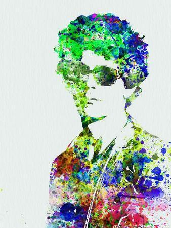 Legendary Bob Dylan Watercolor