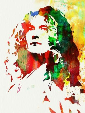 Legendary Robert Plant Watercolor