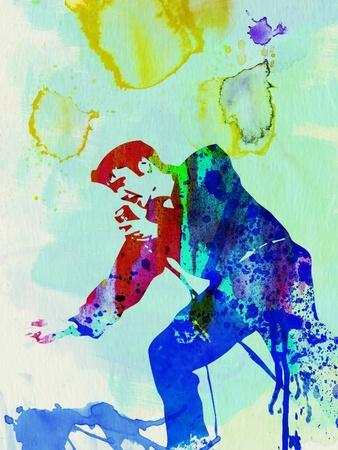 Legendary Elvis Watercolor II