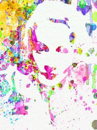 Legendary Marlene Dietrich Watercolor II