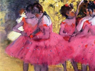 Dancers in Pink, Between the Scenes