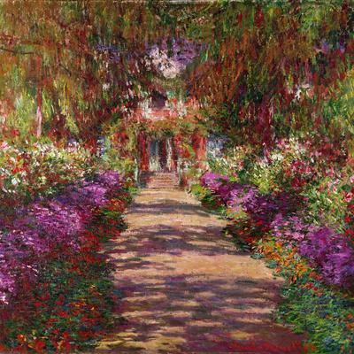 A Pathway in Monet's Garden, Giverny, 1902