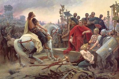 Vercingetorix Throws Down His Arms at the Feet of Julius Caesar, 1899