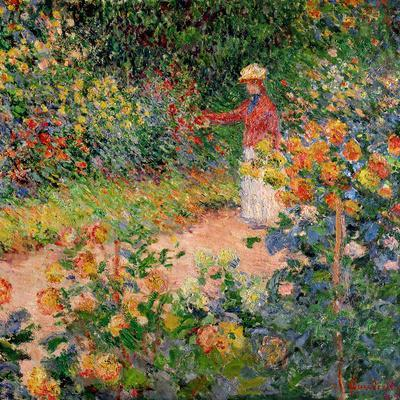 Garden at Giverny, 1895