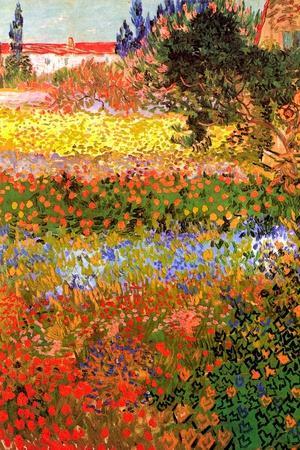Vincent van Gogh Flowering Garden