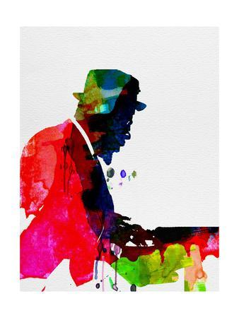 Thelonious Watercolor