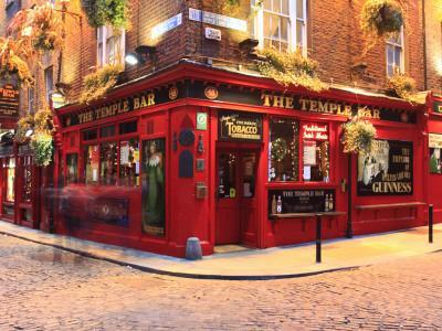 The Temple Bar Pub in Temple Bar Area
