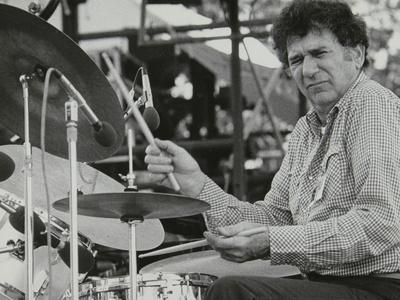 Shelly Manne Playing at the Capital Radio Jazz Festival, London, 1979