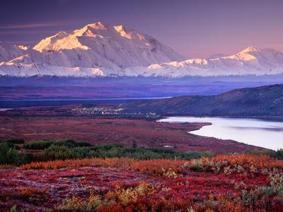 Denali National Park near Wonder Lake, Alaska, USA