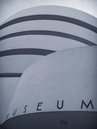 Guggenheim Museum (By Frank Lloyd Wright), Upper East Side, Manhattan, New York City, USA