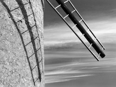 Windmill Near Saint Saturnin-Les-Apt, Provence, France
