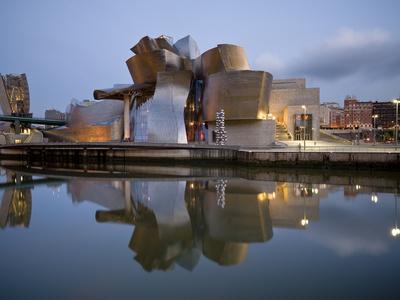 Guggenheim Museum, Bilbao, Euskal Herria, Euskadi, Spain, Europe