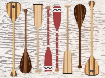 Canoe, Paddles & Oar
