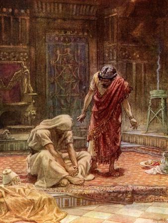 The sorrow of King David - Bible