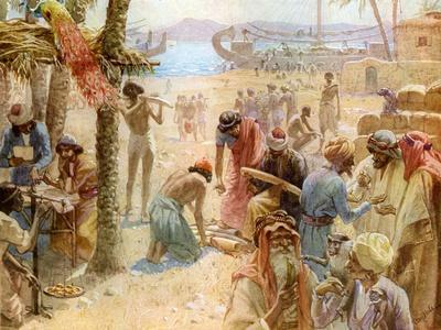 The commerce of King Solomon - Bible
