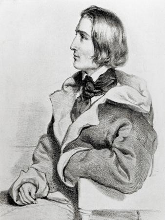 Franz Liszt in 1838