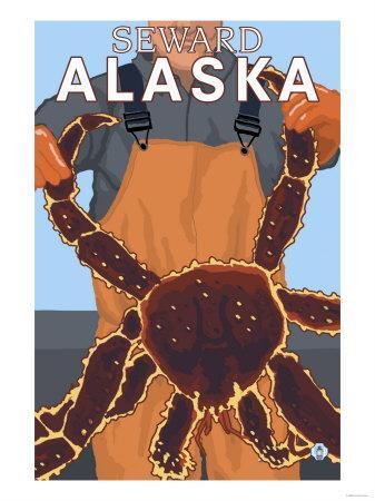 King Crab Fisherman, Seward, Alaska