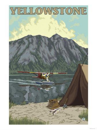Bush Plane & Fishing, Yellowstone National Park