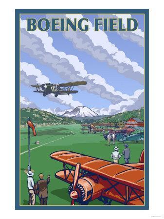 Boeing Field, Seattle, Washington