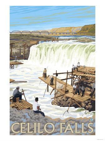 Celilo Falls Fishing