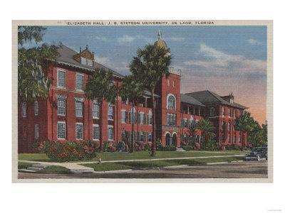 Deland, Florida - Stetson University, Elizabeth Hall