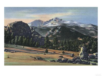 Estes Park, Colorado - Longs Peak View