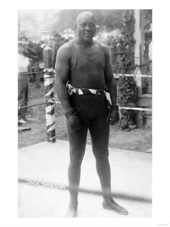 Heavyweight Boxing Champion Jack Johnson Photograph