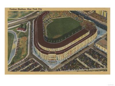 New York, NY - Yankee Stadium from the Air No.1