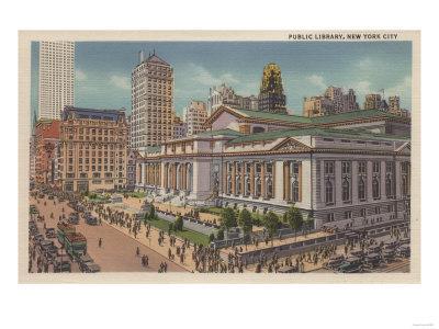 New York, NY - Public Library View