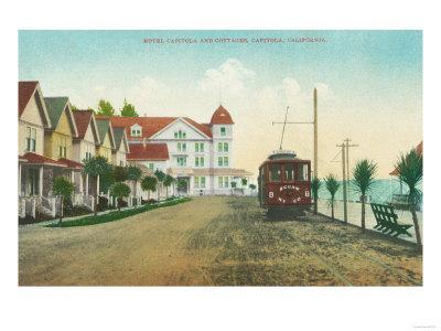 Exterior View of the Hotel Capitola and Cottages - Capitola, CA