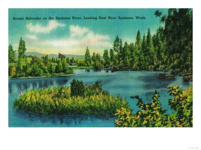 Spokane River, near Spokane, WA - Spokane, WA