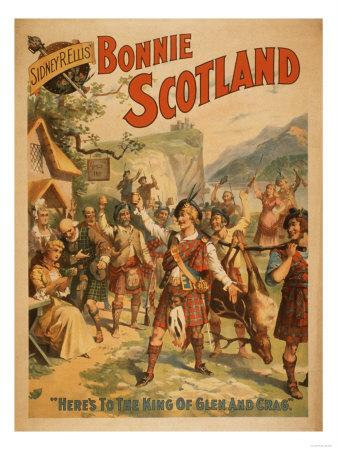 Sidney R. Ellis' Bonnie Scotland Scottish Play Poster No.4
