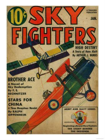 Sky Fighters Magazine Cover