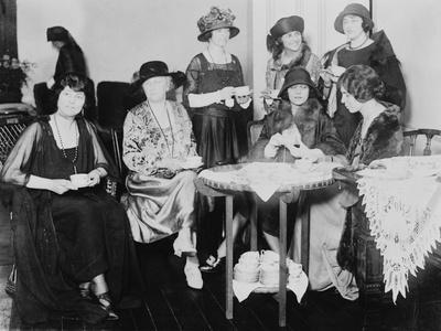 Alice Brady and National Womens Tea Party Photograph - Washington, DC