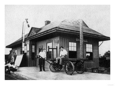 Exterior View of the Oakdale Depot - Oakdale, CA