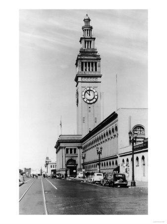Exterior View of Ferry Building, Clock Tower - San Francisco, CA