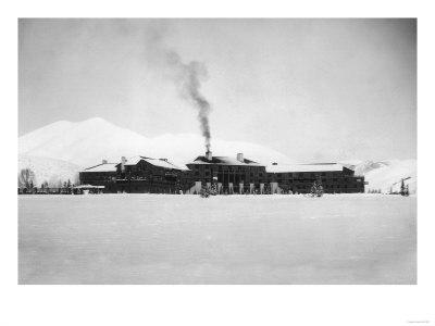 Exterior View of the Sun Valley Lodge - Ketchum, ID