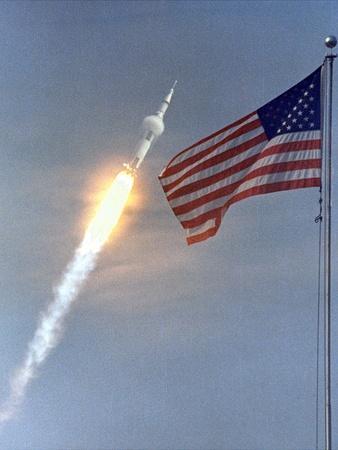Apollo 11 Launch Photograph - Cape Canaveral, FL