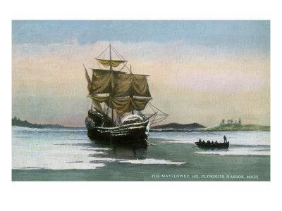 Plymouth, Massachusetts, Representation of the 1621 Mayflower Landing