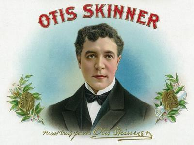 Otis Skinner Brand Cigar Box Label