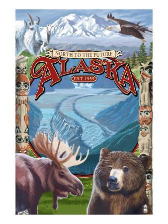 Alaska Scenes Montage