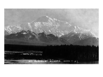 Alaska - View of Mt McKinley