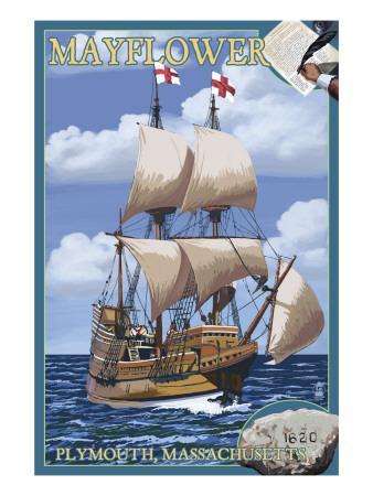Plymouth, Massachusetts - Mayflower