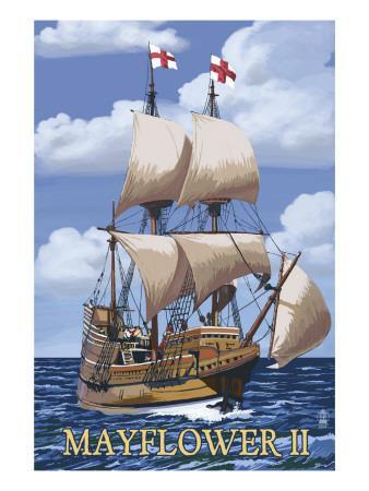 Plimoth Plantation, Massachusetts - Mayflower II