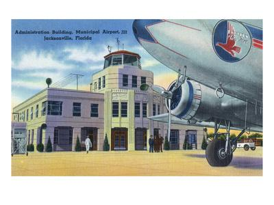 Jacksonville, Florida - Municipal Airport Administration Building