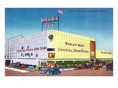 St. Petersburg, Florida - Exterior View of Webb's City Drugstore