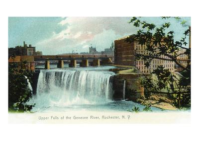 Rochester, New York - Upper Falls of the Genesee River